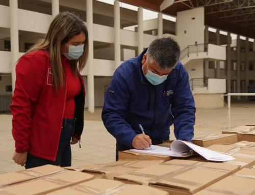 Cajas de Alimentos llegan Limache y en los próximos días serán repartidas a los vecinos más afectados por la pandemia