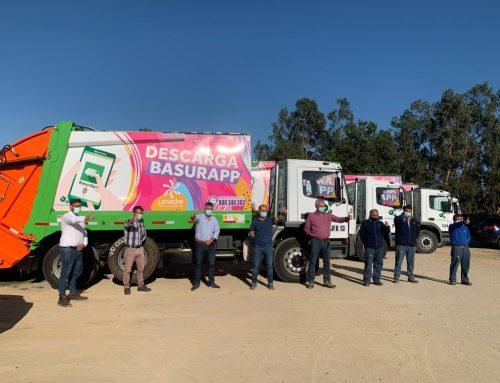 Vecinos de Limache podrán conocer el recorrido del camión de la basura.