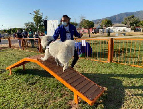 Limache cuenta con su primer parque para niños, adultos y mascotas.