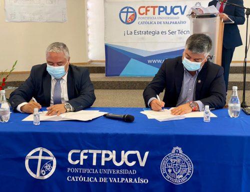 CFT PUCV y la Ilustre Municipalidad de Limache firman convenio para fortalecer el emprendimiento y la Educación Superior en la ciudad