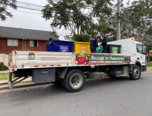 Nueva modalidad de reciclaje llegará a distintos puntos de Limache